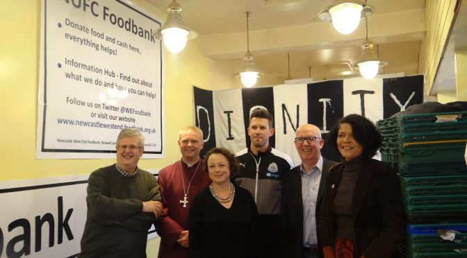 Supporting the West End Foodbank
